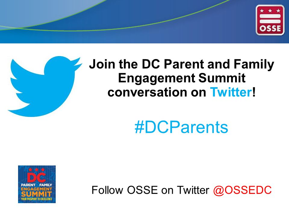 Join the DC Parent and Family Engagement Summit conversation on Twitter.