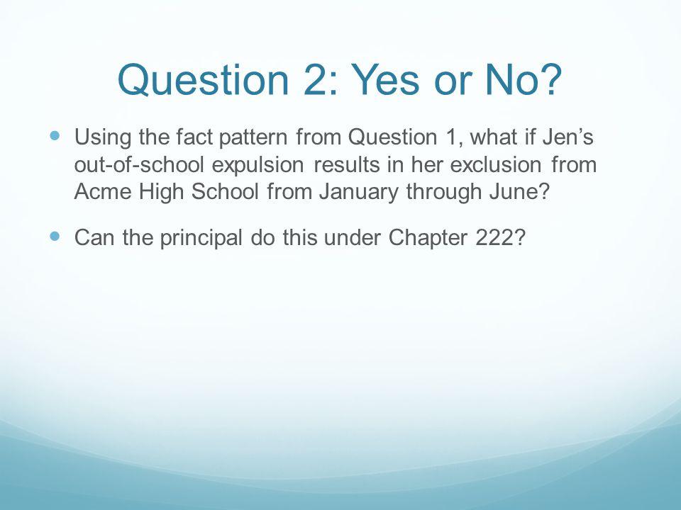 Answer 2: Yes Under M ASS.G EN.