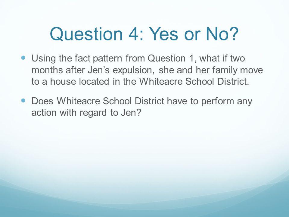 Answer 4: Yes Under M ASS.G EN. L AWS ch.
