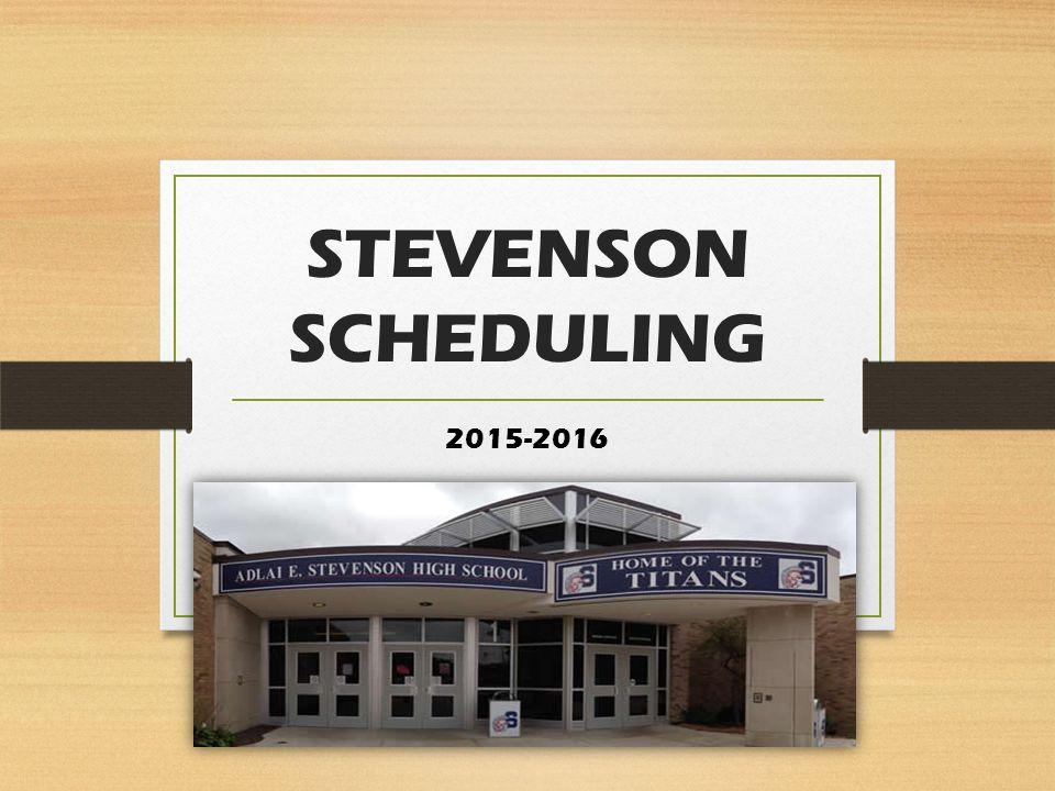 STEVENSON SCHEDULING 2015-2016