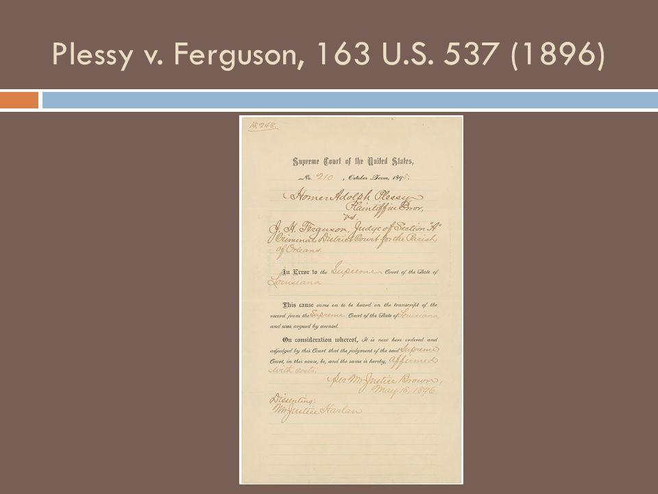 Brown v.Board of Education, 347 U.S.