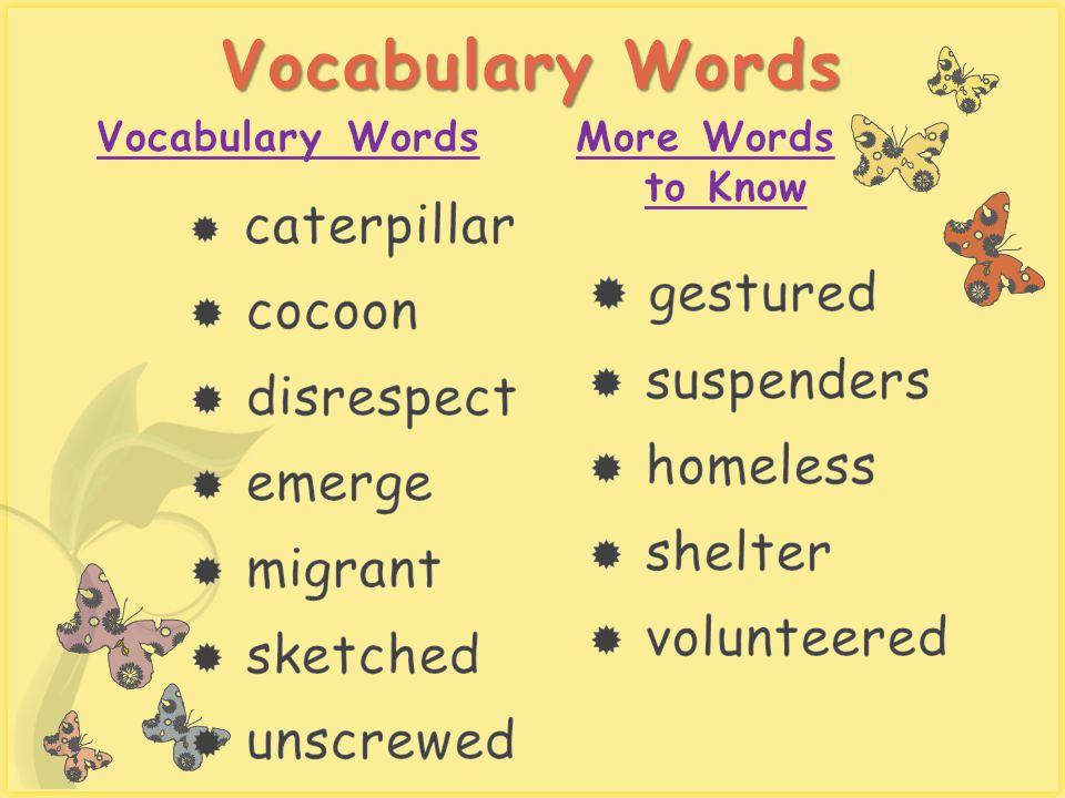 7 Vocabulary Words