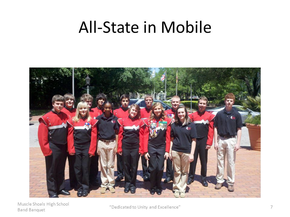 All-State in Mobile Muscle Shoals High School Band Banquet Dedicated to Unity and Excellence 7