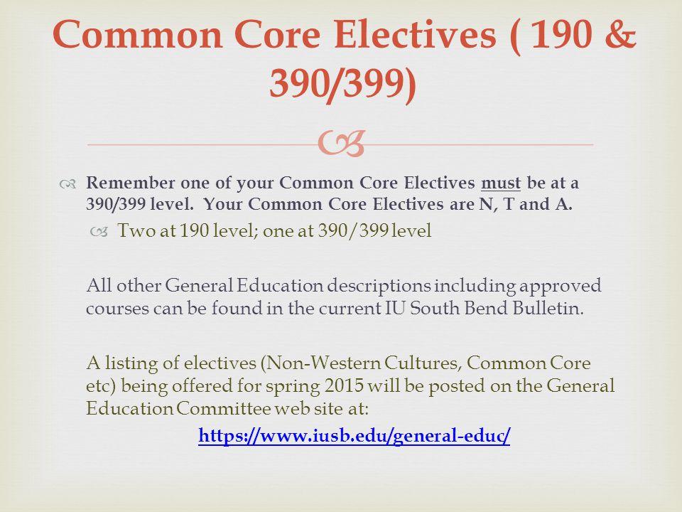  Pre-Nursing Choosing Electives