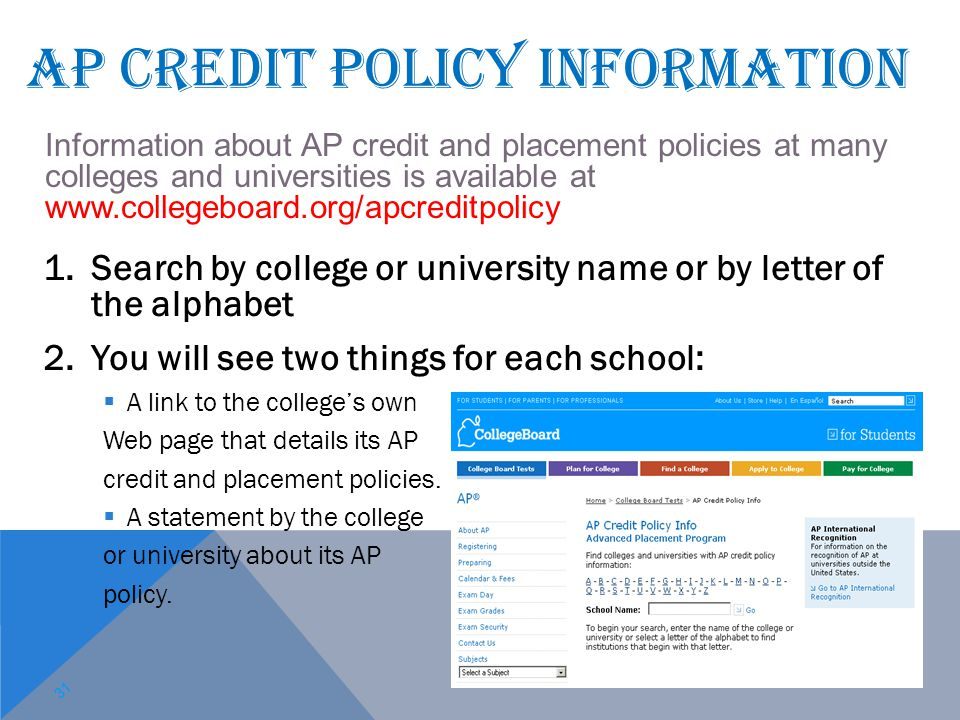 1.Search by college or university name or by letter of the alphabet 2.You will see two things for each school:  A link to the college's own Web page