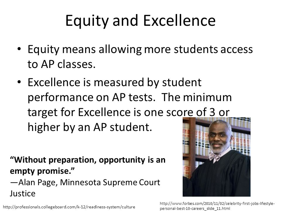 How does Wisconsin compare on Equity and Excellence.