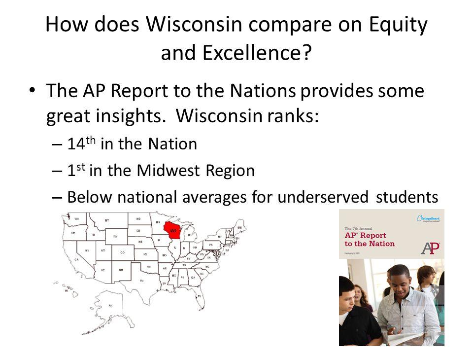 Nationally Wisconsin ranks 14 th