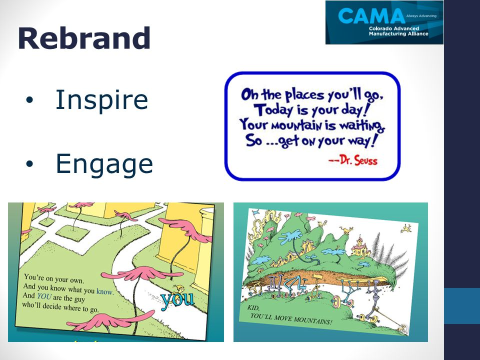 Rebrand Inspire Engage