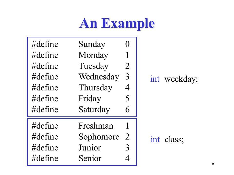 27 Characters in Switch bool isVowel(char ch) { switch (tolower(ch)) { case 'a': case 'e': case 'i': case 'o': case 'u': return TRUE; default: return FALSE; }