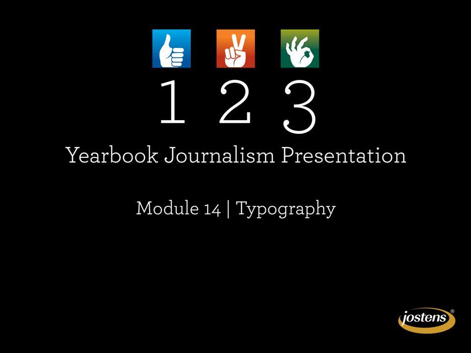MODULE 16: TYPOGRAPHY