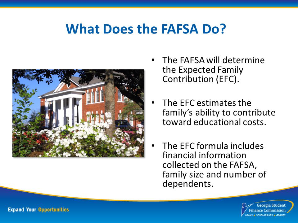 What Does the FAFSA Require.