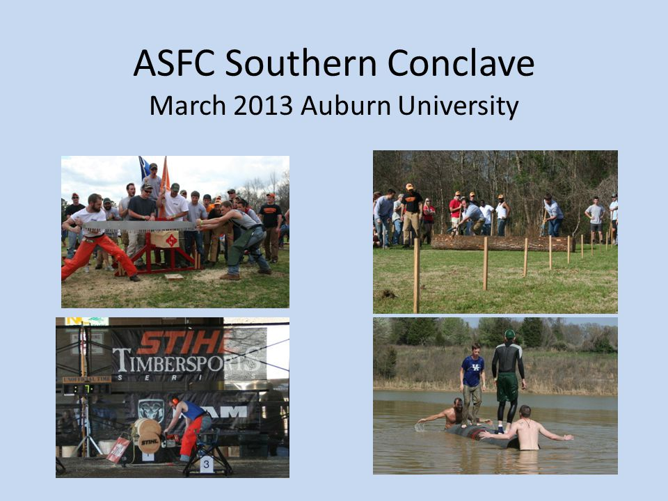 ASFC Southern Conclave March 2013 Auburn University