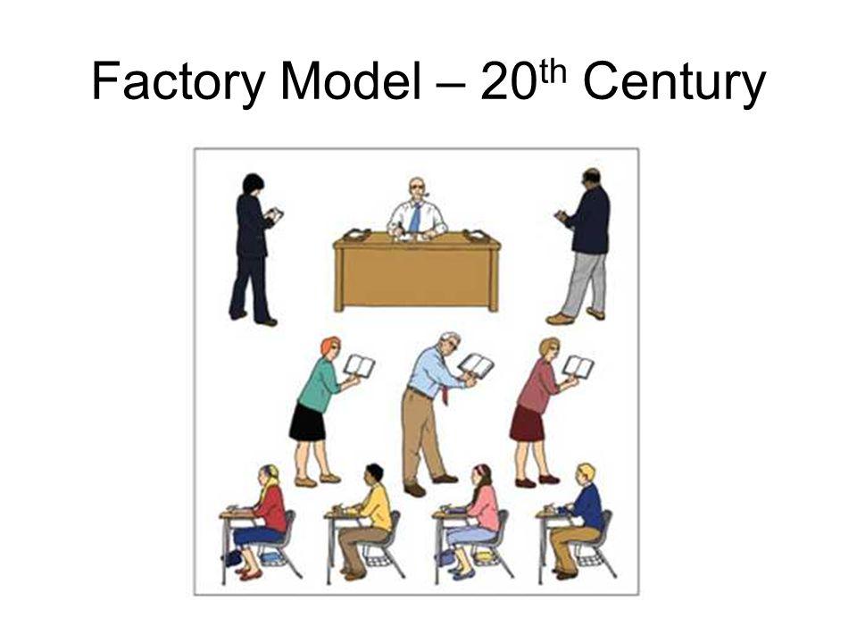 Factory Model – 20 th Century