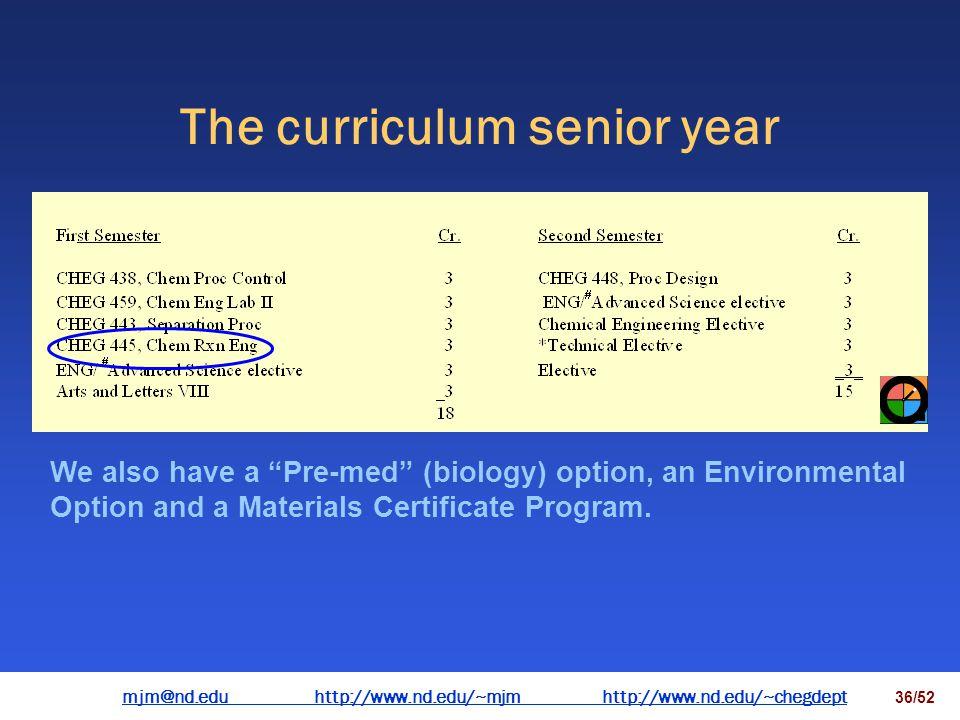 mjm@nd.eduhttp://www.nd.edu/~mjmhttp://www.nd.edu/~chegdepthttp://www.nd.edu/~mjmhttp://www.nd.edu/~chegdept 35/52 Phase equilibria Fundamental chemic