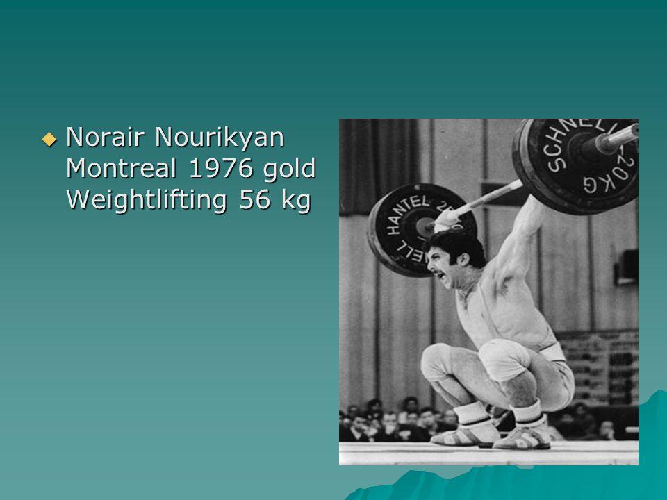  Norair Nourikyan Montreal 1976 gold Weightlifting 56 kg