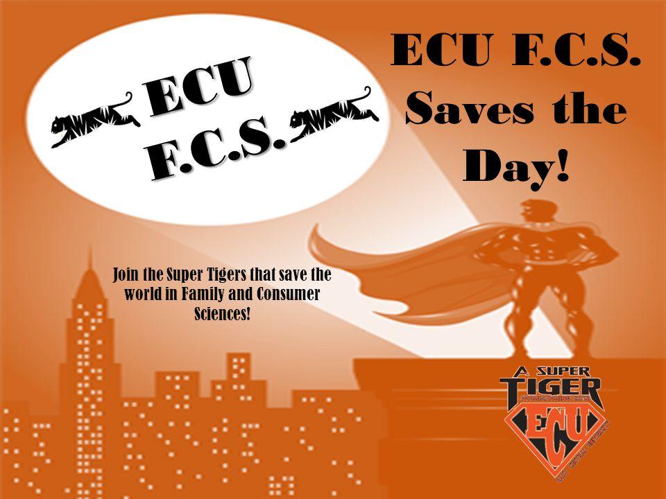 ECUF.C.S. ECU F.C.S. Saves the Day.