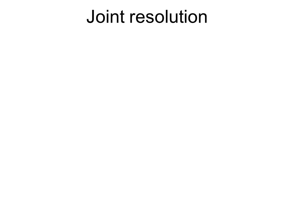 JOINT RESOLUTIONS are used to pose constitutional amendments, to fix technical errors, or to appropriate.