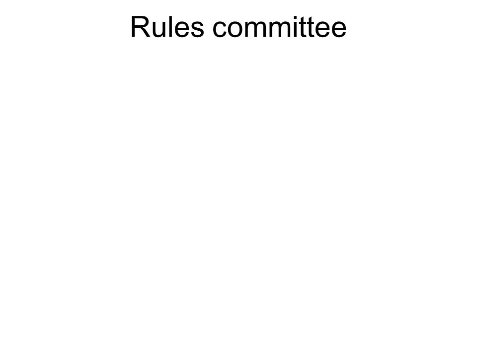 The Committee on Rules, or (more commonly) Rules Committee, is a committee of the United States House of Representatives.