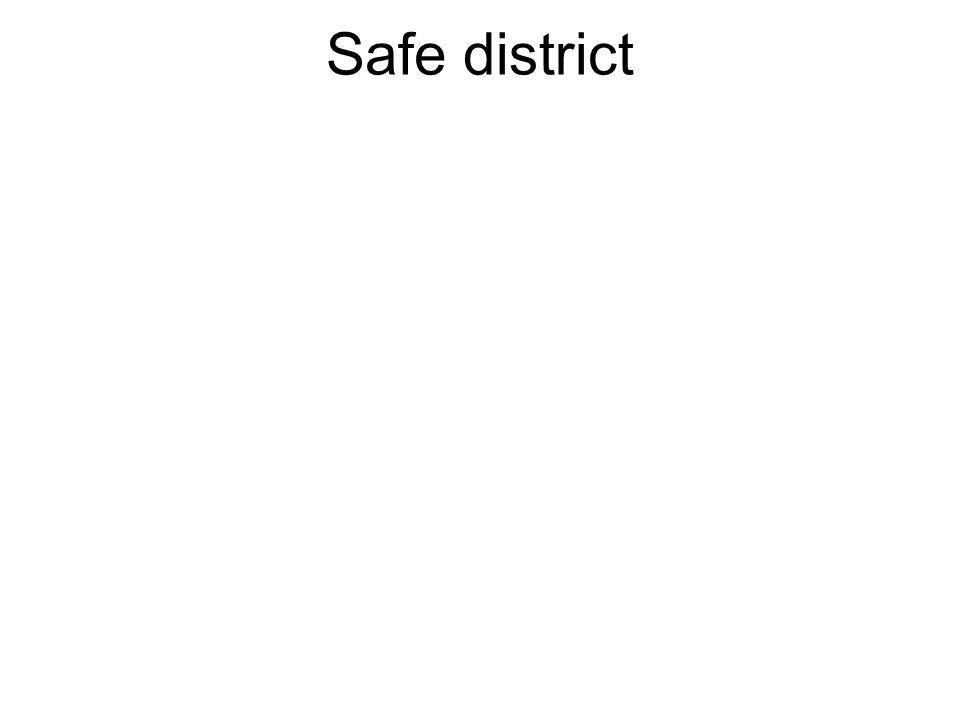 Safe district