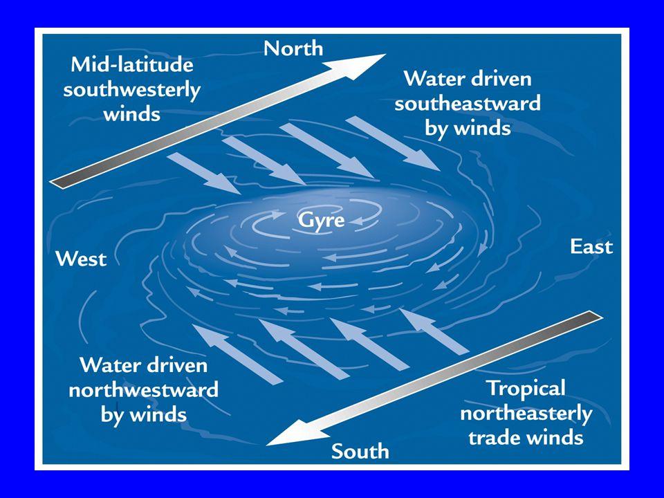 Figure 4-36 (p. 135) Major ocean surface currents.