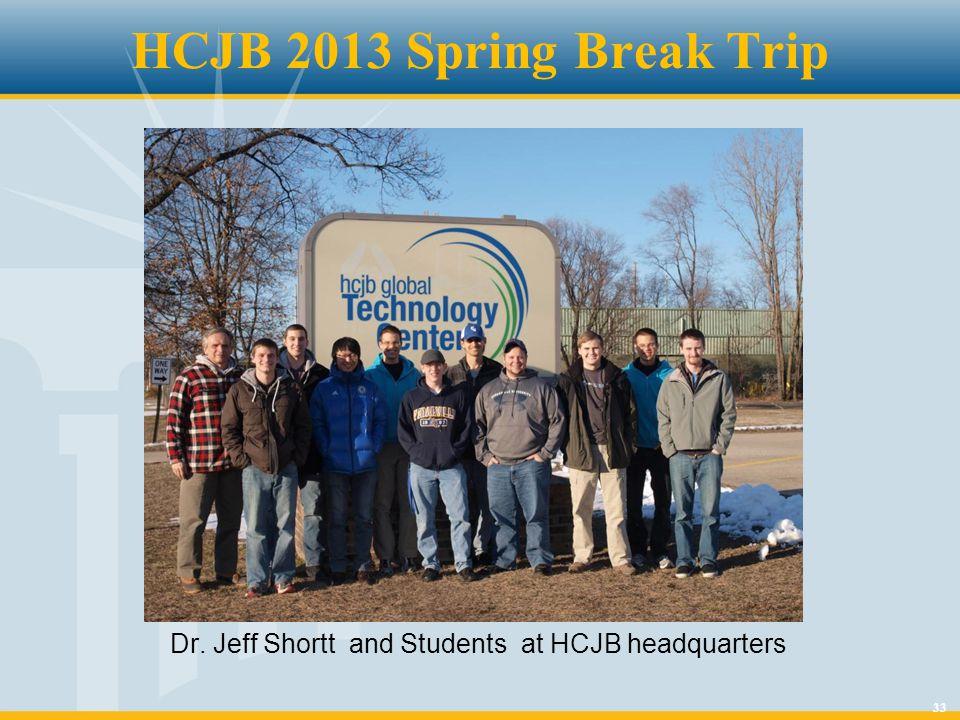 33 HCJB 2013 Spring Break Trip Dr. Jeff Shortt and Students at HCJB headquarters