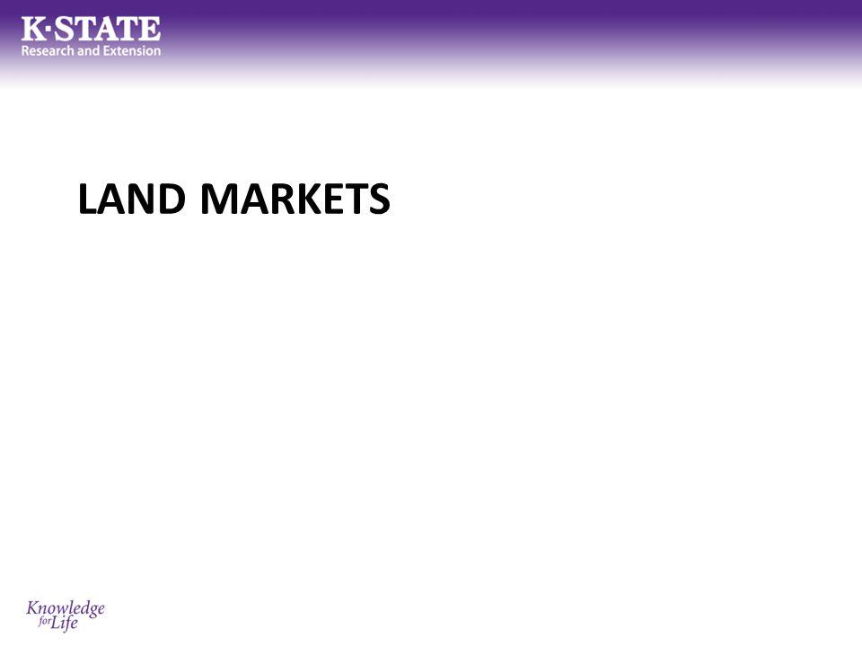 Land Markets Why land.