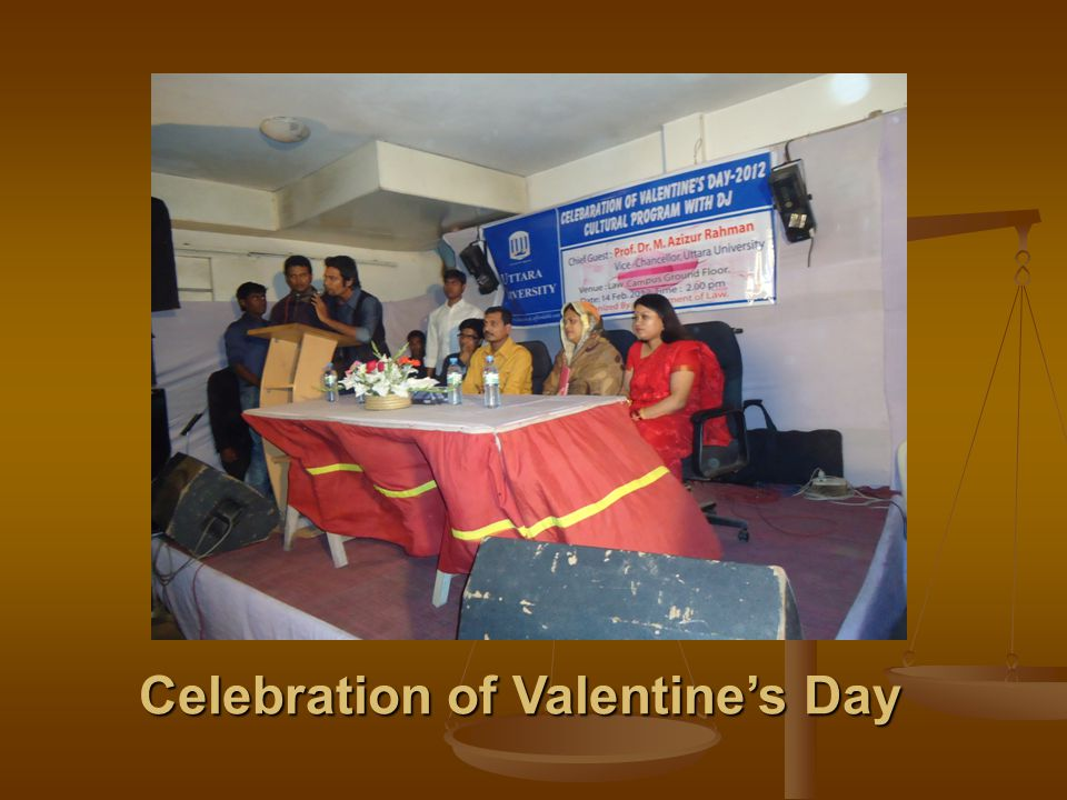 Celebration of Valentine's Day