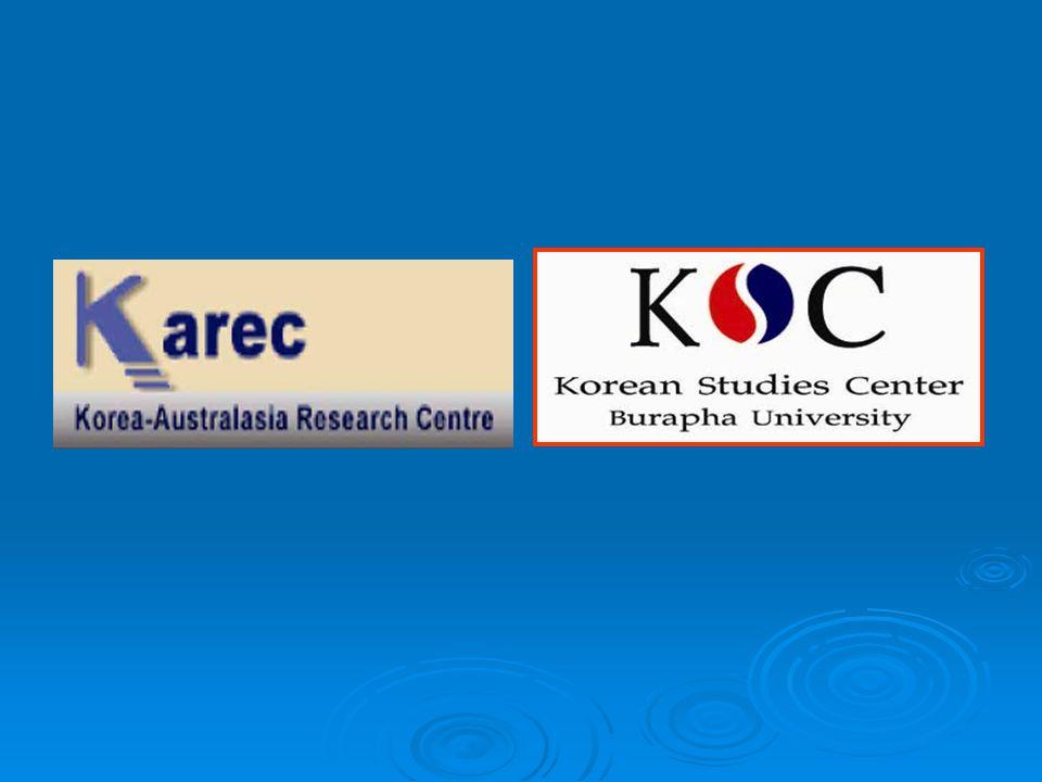 The Survey of Korean Language Teaching in Thailand By Asst.Prof.Tassanee Thantawanit Mrs.Chanchala Sivamard Korean Studies Center (KSC), Burapha University
