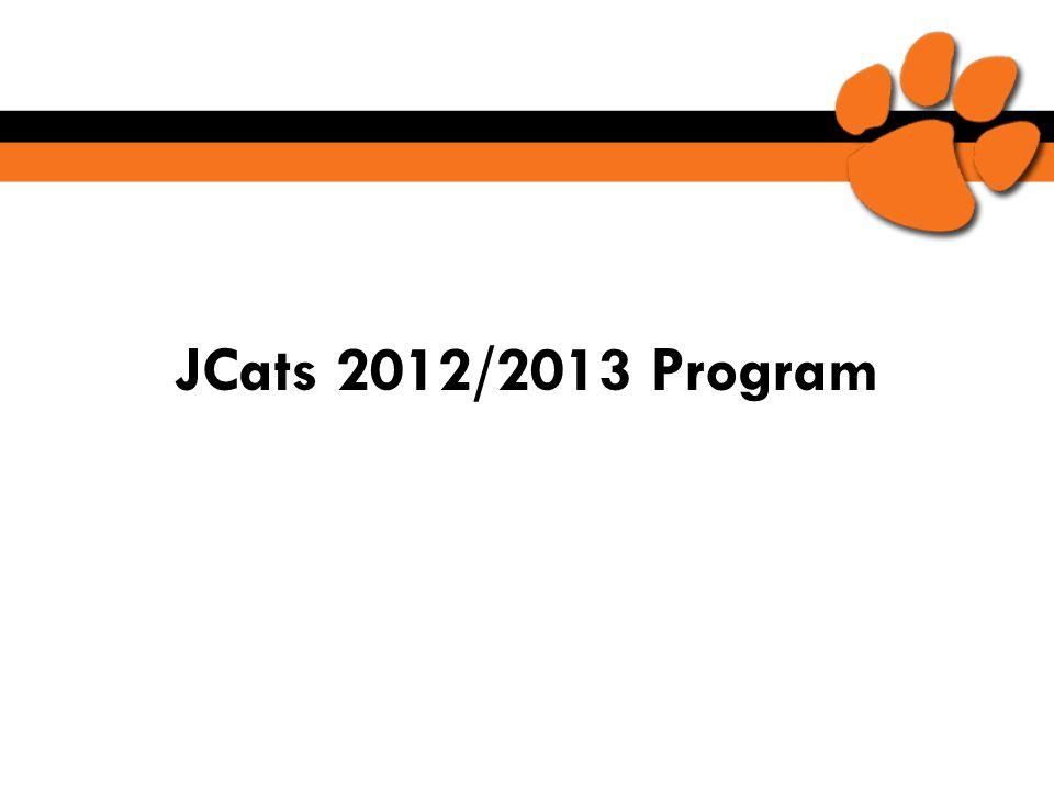 JCats 2012/2013 Program