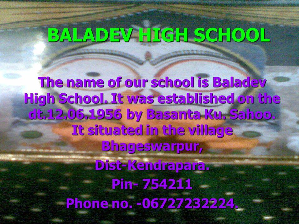 BALADEV HIGH SCHOOL