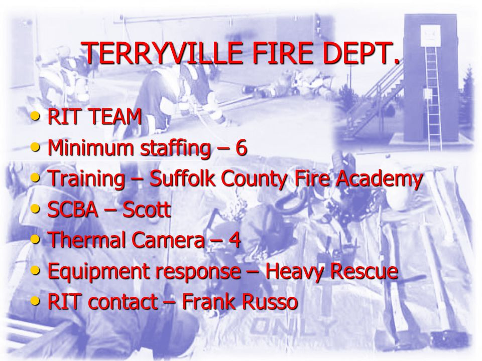 TERRYVILLE FIRE DEPT.