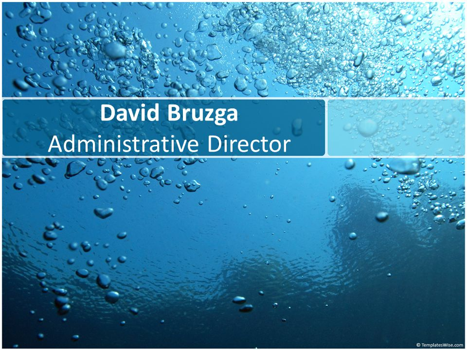 David Bruzga Administrative Director