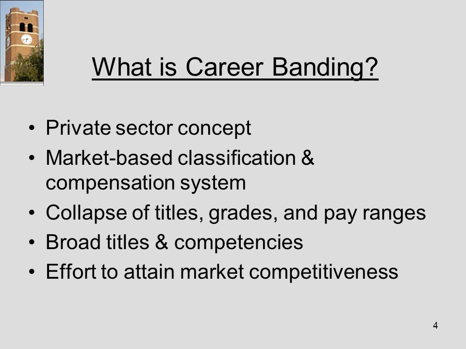4 What is Career Banding.