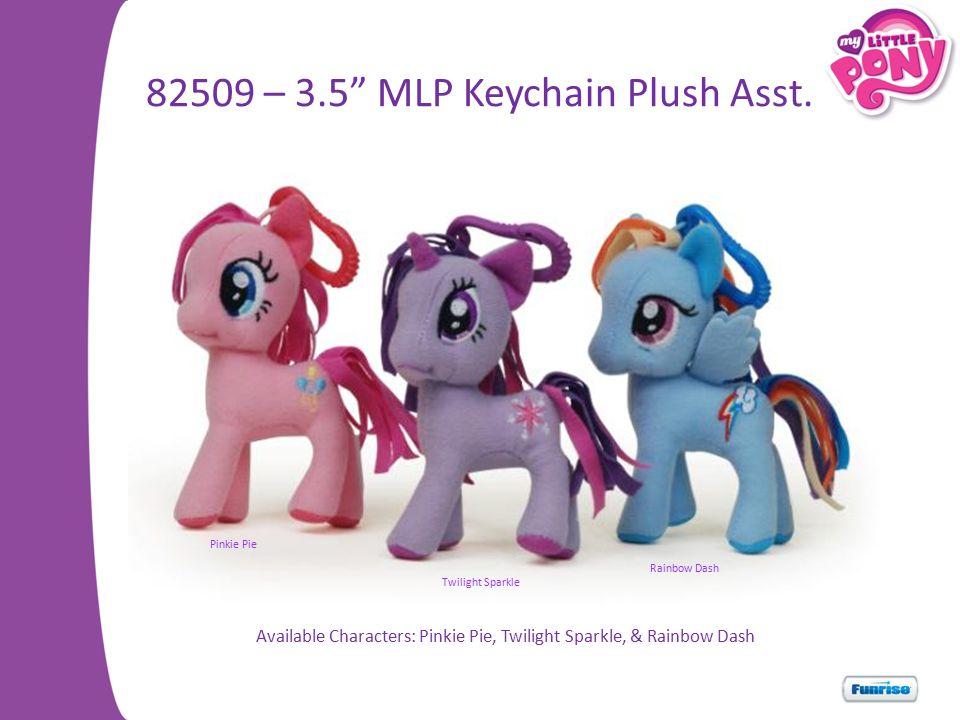 82509 – 3.5 MLP Keychain Plush Asst.