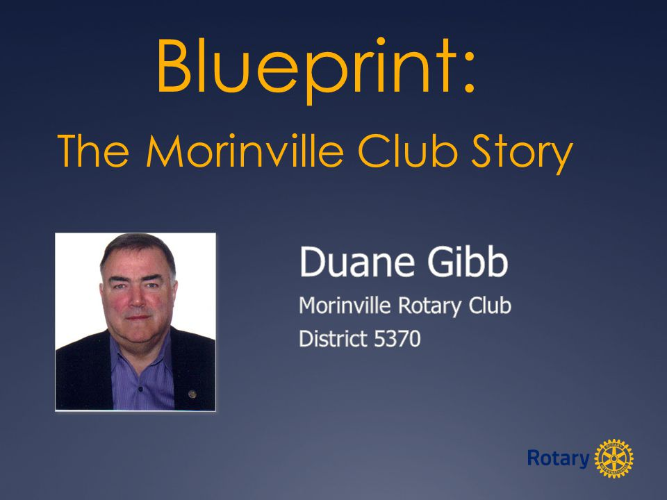 Rotary Club of Morinville Story