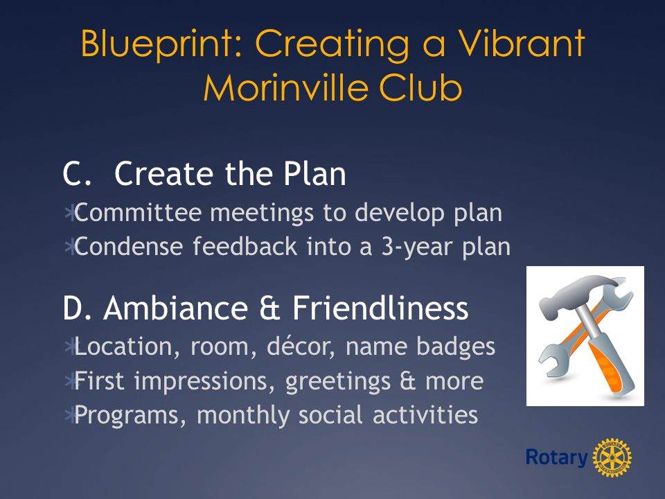 Blueprint: Creating a Vibrant Morinville Club C.