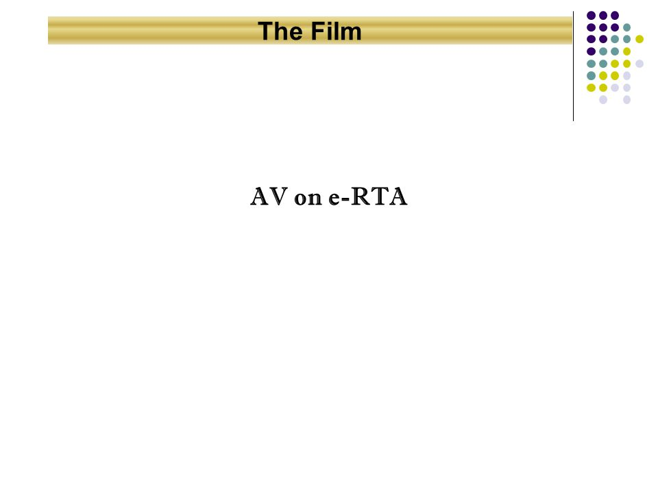 AV on e-RTA The Film