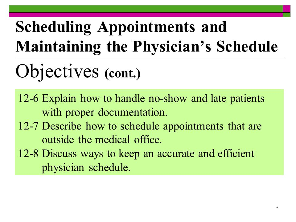 23 A new patient is scheduling an appointment over the telephone with the medical assistant.