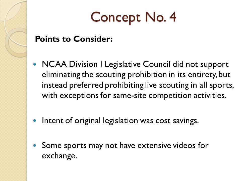 Concept No.4 Questions: 1.