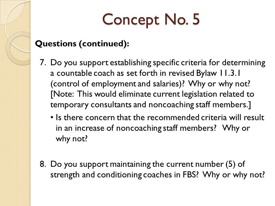 Concept No.6 Concept No.