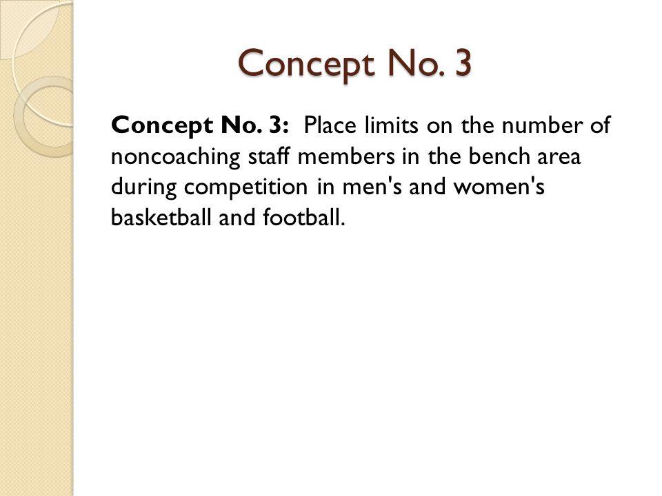 Concept No. 3 Concept No.
