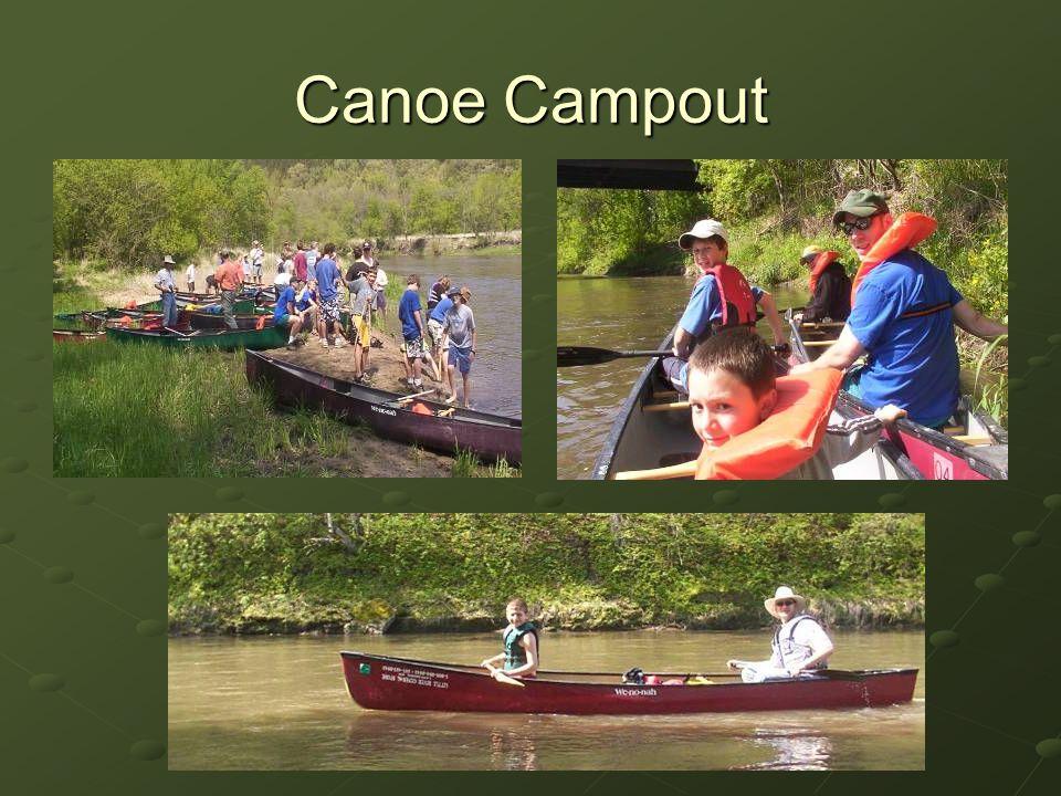 Canoe Campout