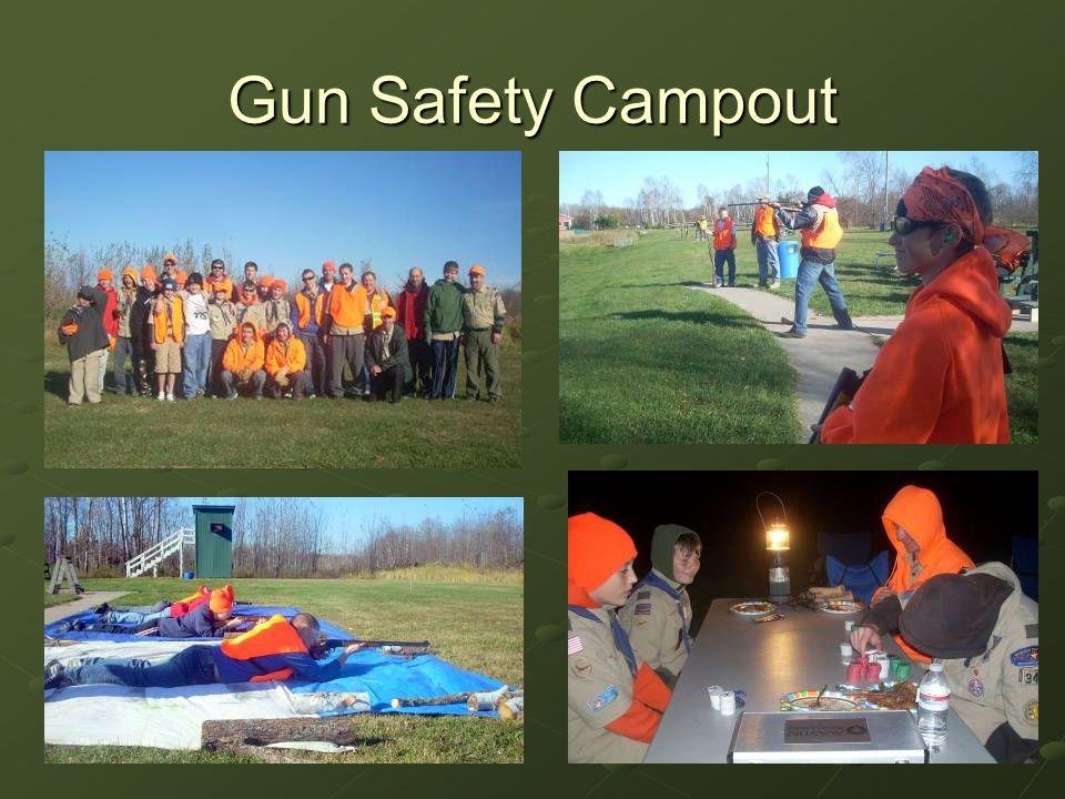 Gun Safety Campout