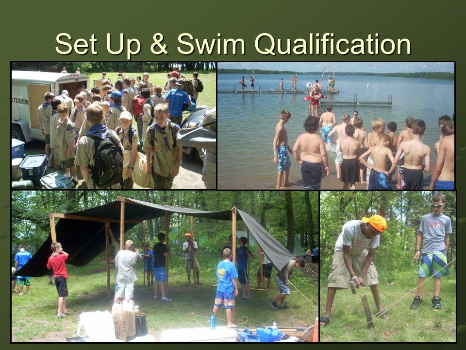 Set Up & Swim Qualification