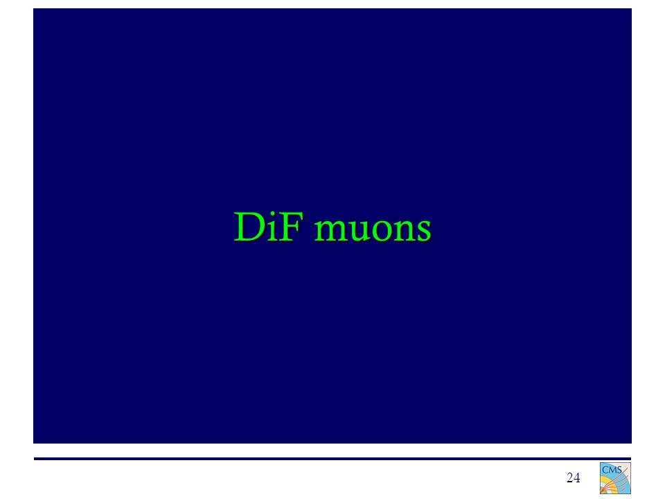 24 DiF muons