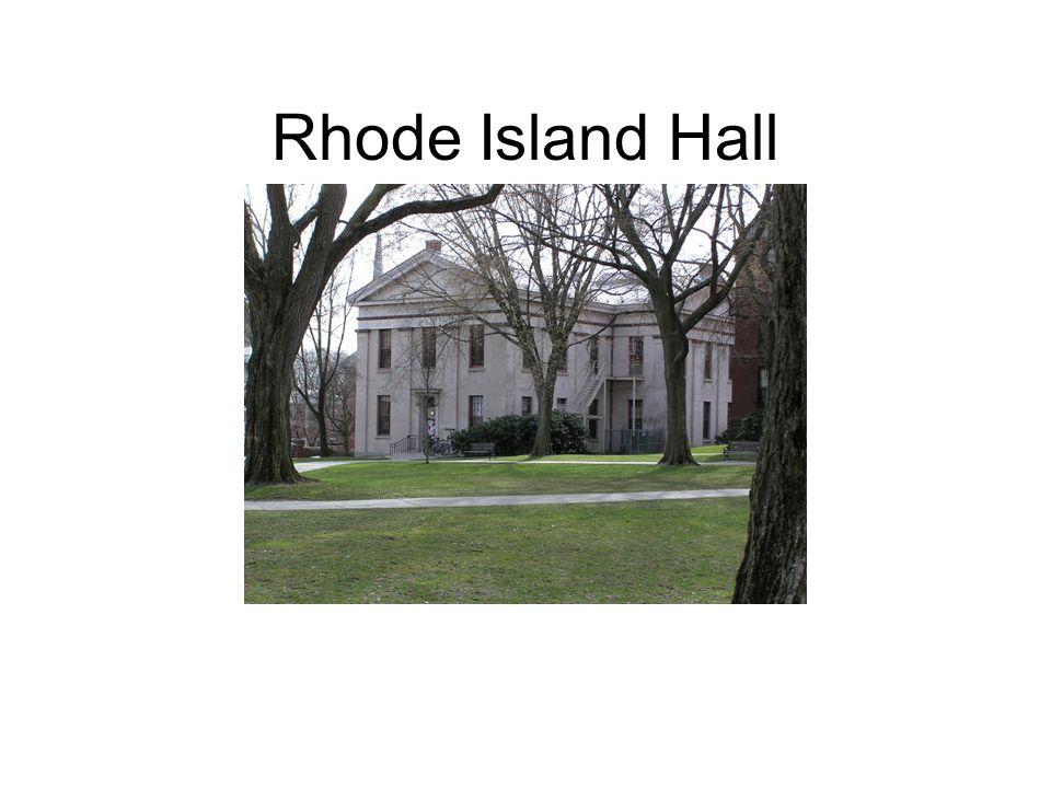 Rhode Island Hall