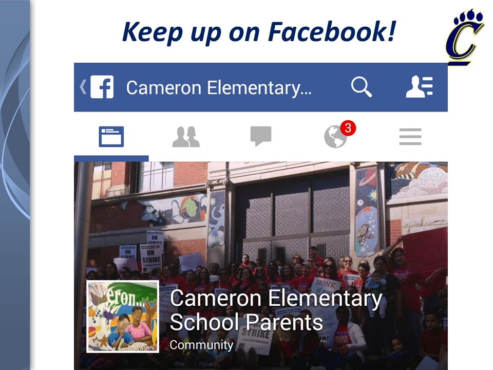 Keep up on Facebook!