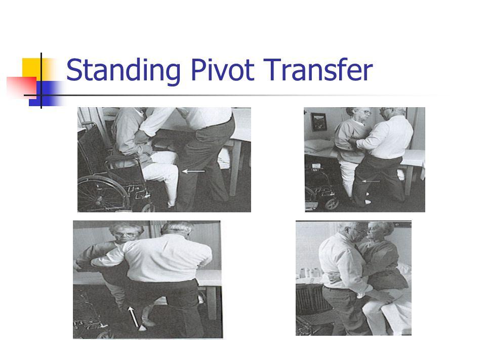 Standing Pivot Transfer