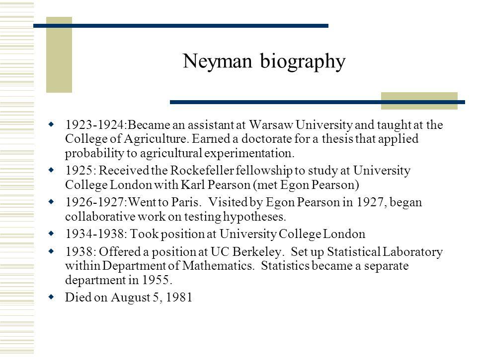 Neyman-Pearson Lemma Consider testing H 0:  =  0 vs.