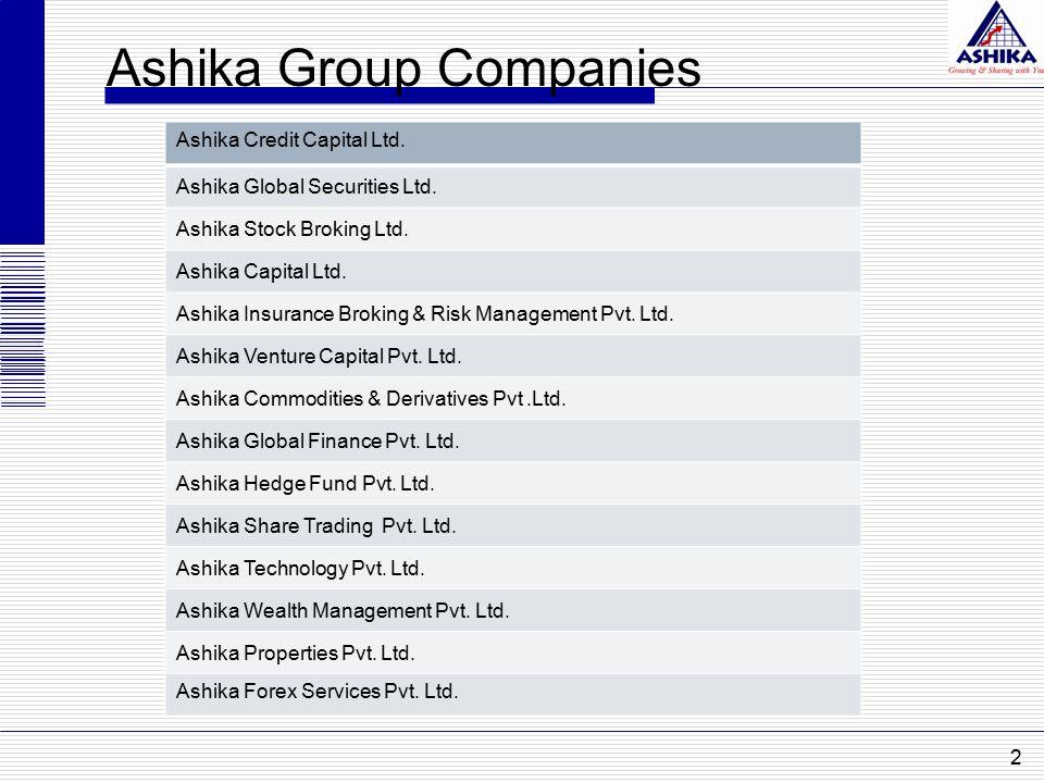 Ashika Group Companies 2 Ashika Credit Capital Ltd.